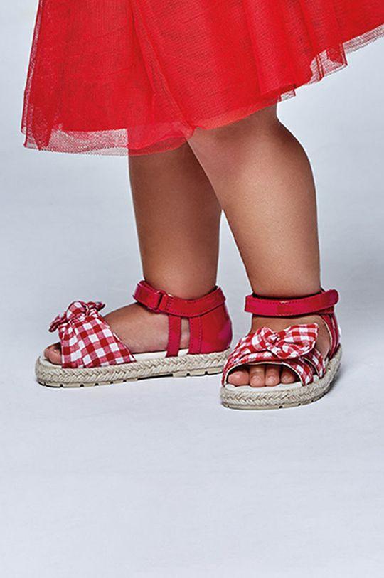 červená Mayoral - Detské sandále Dievčenský