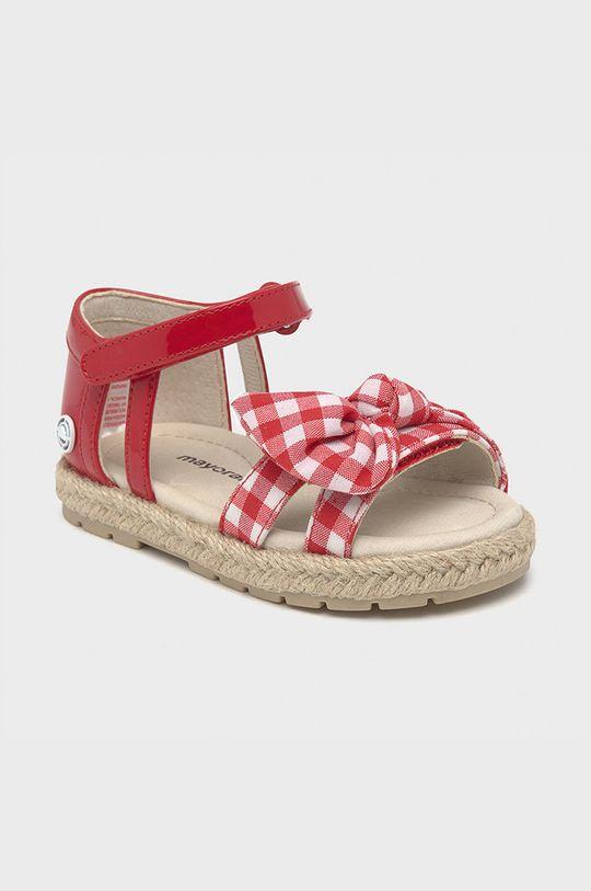 Mayoral - Detské sandále červená