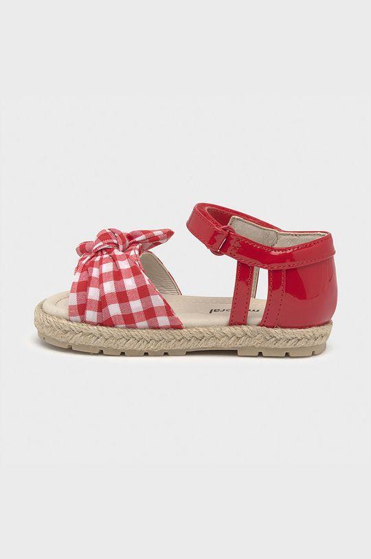 Mayoral - Detské sandále  Zvršok: Syntetická látka, Textil Podrážka: Termoplastická guma Vložka: Prírodná koža