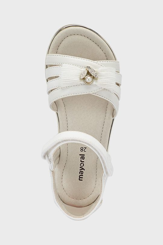 Mayoral - Detské sandále  Zvršok: 100% Polyuretán Podrážka: 100% Termoplastická guma Vložka: 100% Prírodná koža