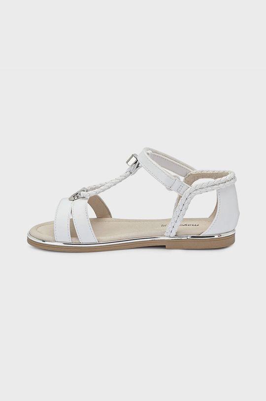 Mayoral - Detské sandále biela