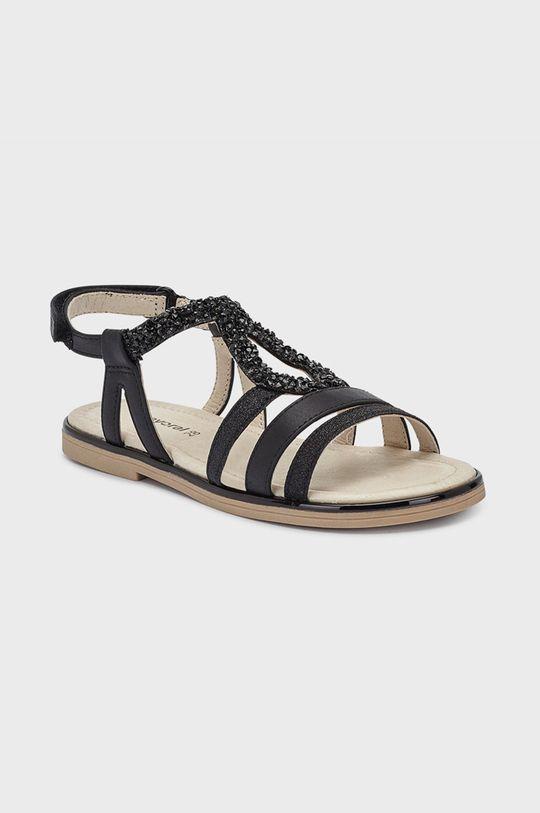 černá Mayoral - Dětské sandály Dívčí