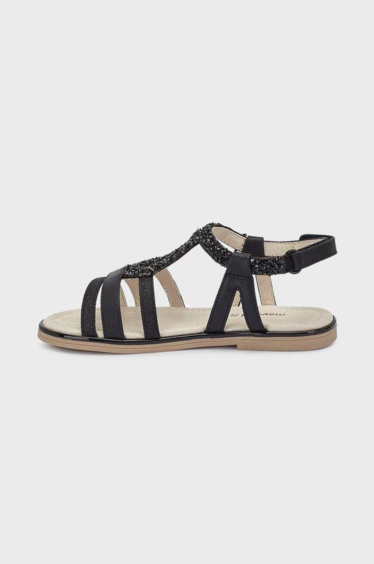 Mayoral - Dětské sandály  Svršek: 100% Polyuretan Podrážka: 100% Termoplastická guma Vložka: 70% Bavlna, 30% Přírodní kůže