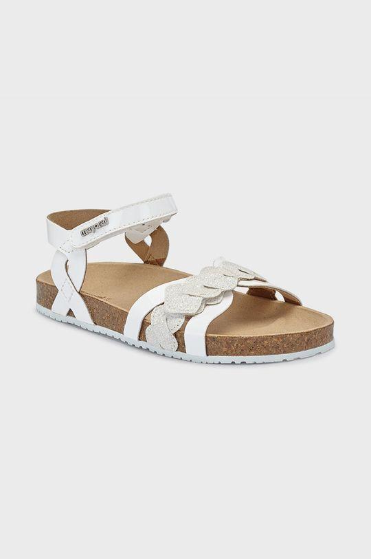 bílá Mayoral - Dětské sandály Dívčí