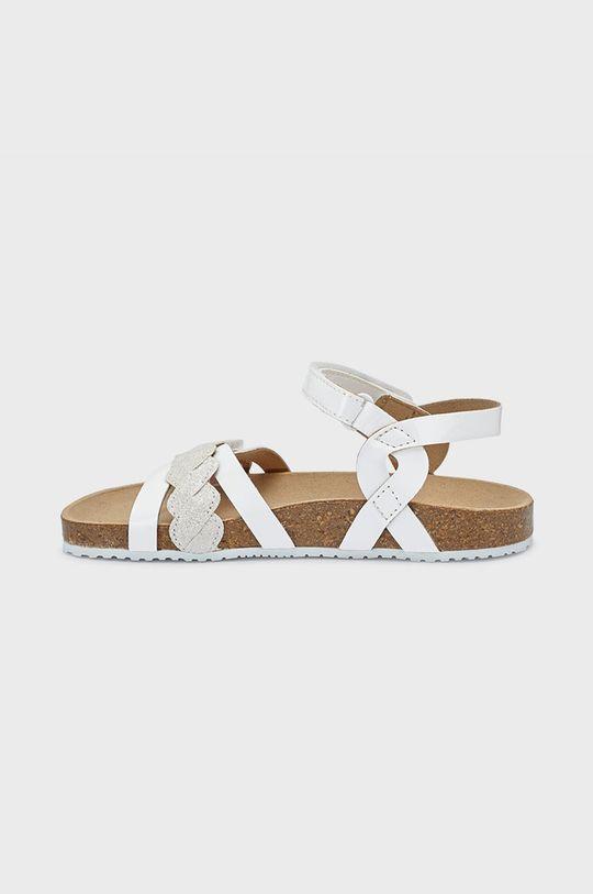 Mayoral - Dětské sandály bílá
