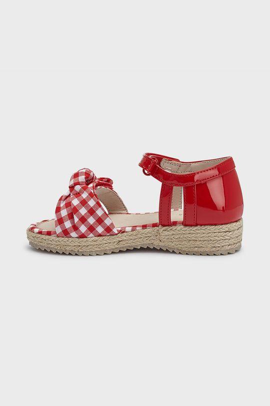 Mayoral - Dětské sandály červená