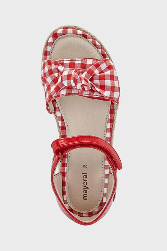 Mayoral - Dětské sandály  Svršek: 3% Elastan, 48% Polyester, 49% Polyuretan Podrážka: 100% Termoplastická guma Vložka: 100% Přírodní kůže