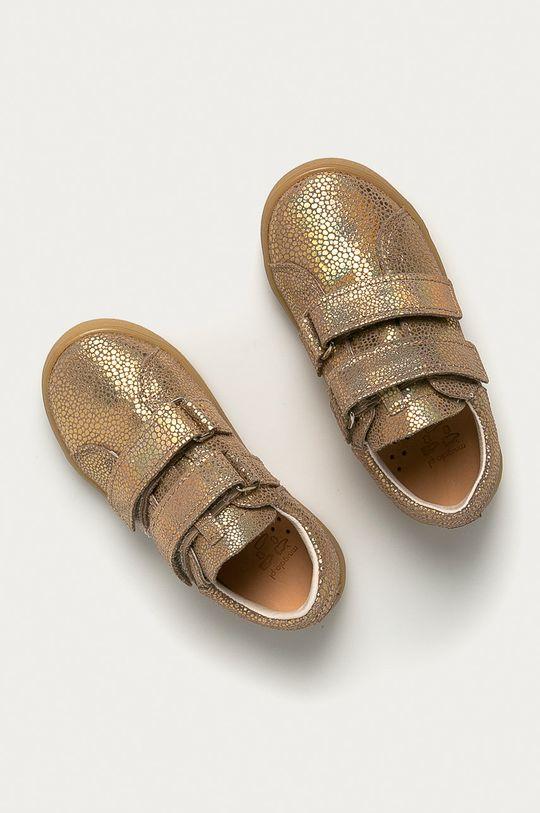 złoty Mrugała - Półbuty skórzane dziecięce
