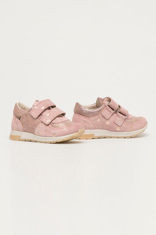 Mrugała - Dětské boty pastelově růžová