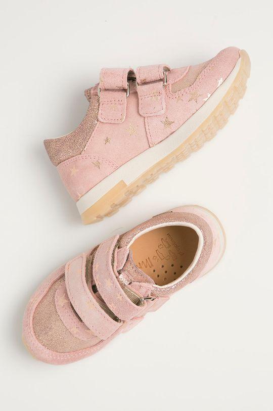 pastelově růžová Mrugała - Dětské boty