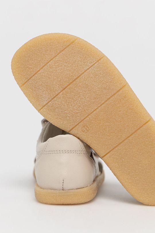 Mrugała - Sandały skórzane dziecięce Cholewka: Skóra naturalna, Wnętrze: Skóra naturalna, Podeszwa: Materiał syntetyczny