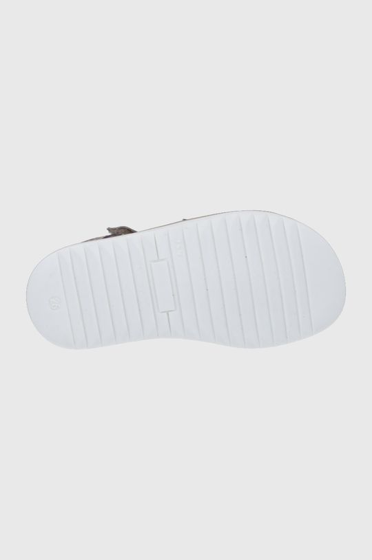 Mrugała - Sandały skórzane dziecięce Dziewczęcy