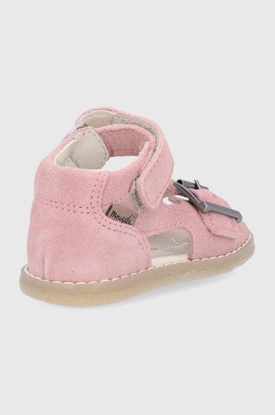 Mrugała - Sandale din piele pentru copii  Gamba: Piele intoarsa Interiorul: Piele naturala Talpa: Material sintetic