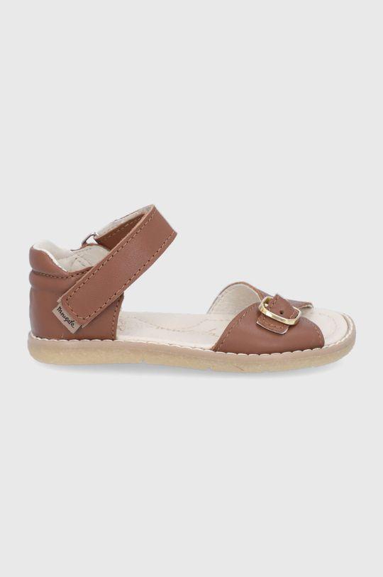maro Mrugała - Sandale din piele pentru copii De fete
