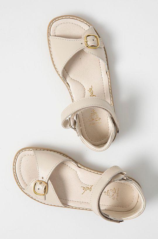 crem Mrugała - Sandale din piele pentru copii
