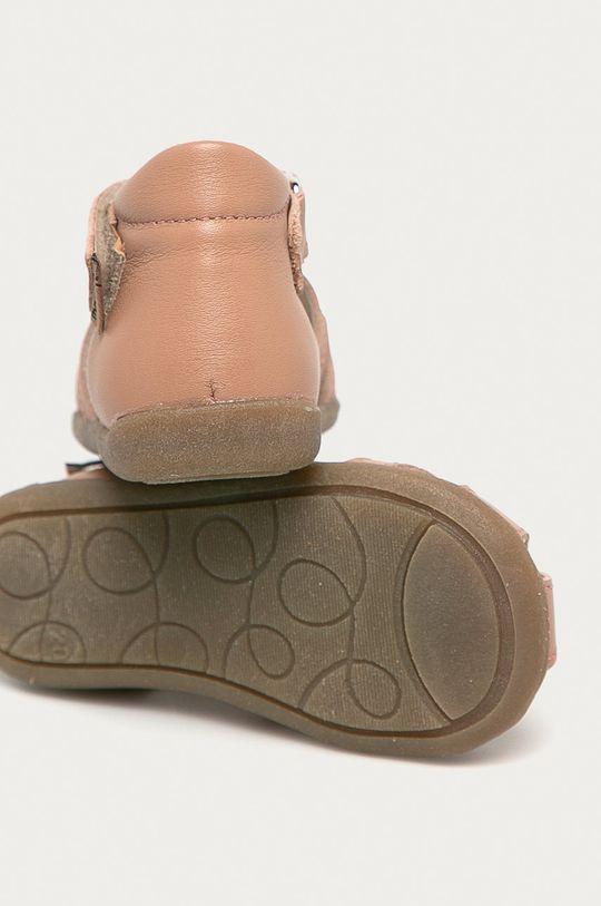 Mrugała - Dětské semišové sandály  Svršek: Semišová kůže Vnitřek: Přírodní kůže Podrážka: Umělá hmota