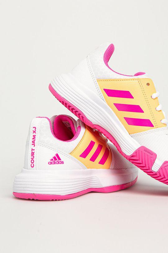 adidas Performance - Pantofi copii CourtJam xJ  Gamba: Material sintetic, Material textil Interiorul: Material textil Talpa: Material sintetic
