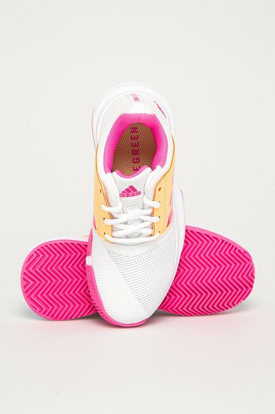 adidas Performance - Pantofi copii CourtJam xJ De fete