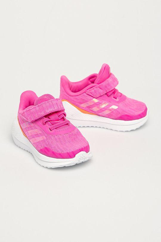 adidas Performance - Detské topánky Run EL fuksia