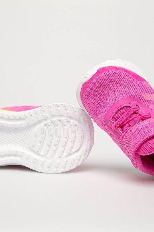 fuksia adidas Performance - Detské topánky Run EL