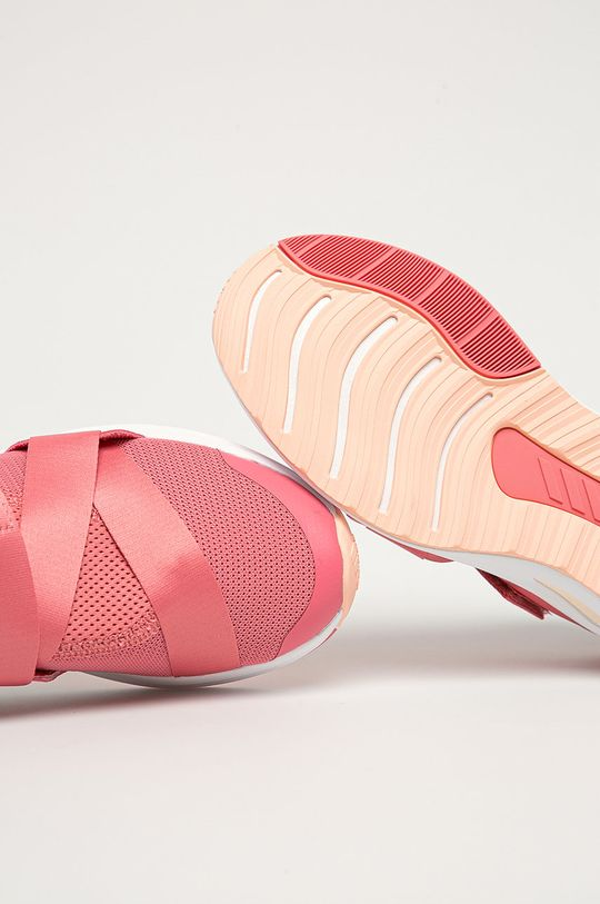 purpurový adidas Performance - Detské topánky FortaRun X