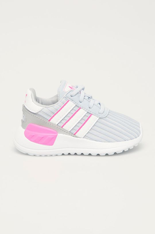světle šedá adidas Originals - Dětské boty La Trainer Lite Dívčí