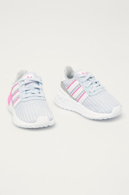 adidas Originals - Dětské boty La Trainer Lite světle šedá