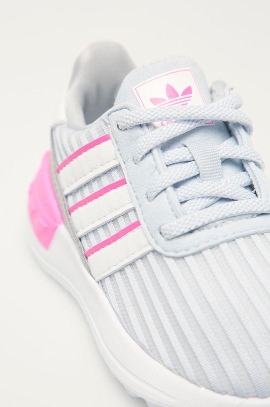 světle šedá adidas Originals - Dětské boty La Trainer Lite