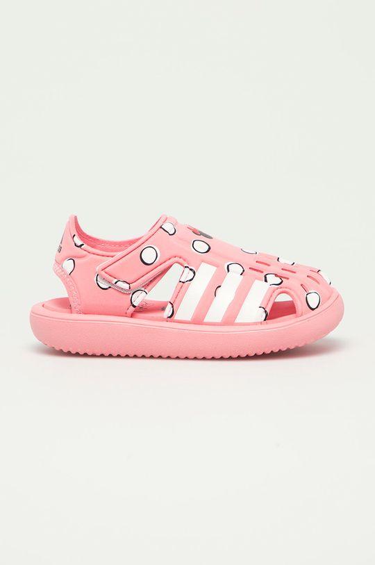 růžová adidas - Dětské sandály Water Sandal Dívčí