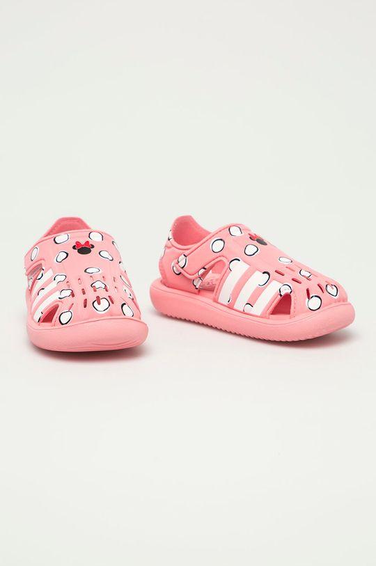 adidas - Dětské sandály Water Sandal růžová