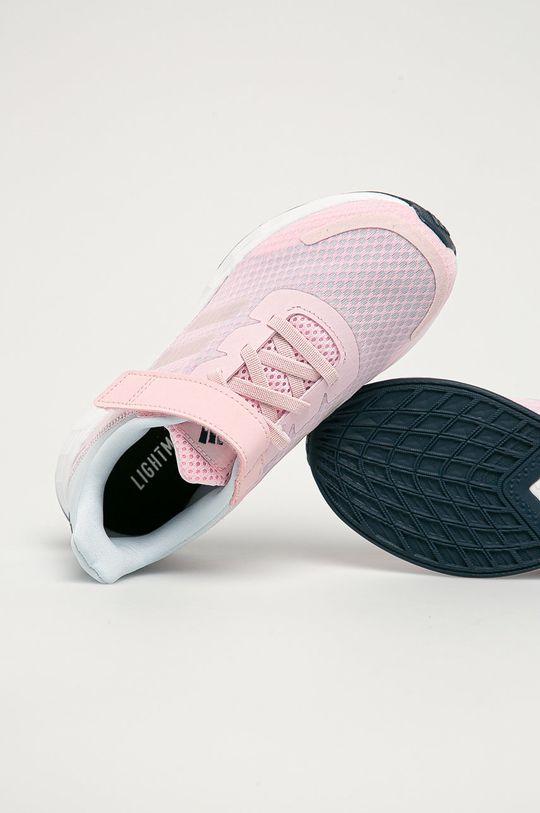 růžová adidas - Dětské boty Duramo