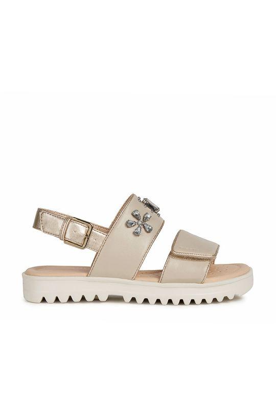 béžová Geox - Detské sandále Dievčenský