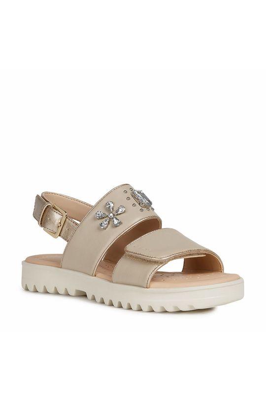 Geox - Detské sandále béžová