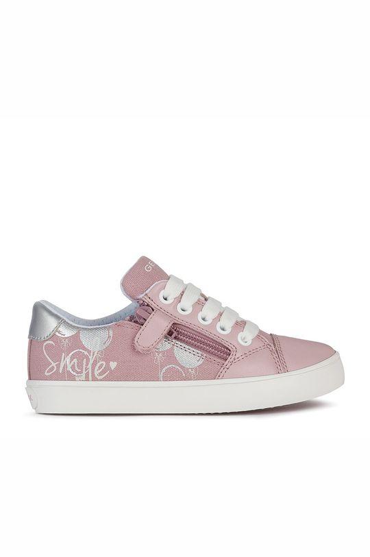 pastelově růžová Geox - Dětské boty Dívčí