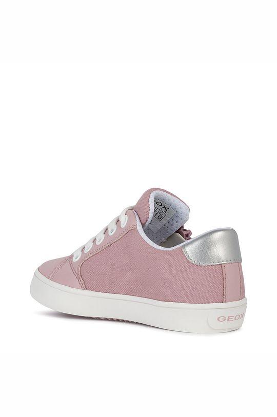 pastelově růžová Geox - Dětské boty