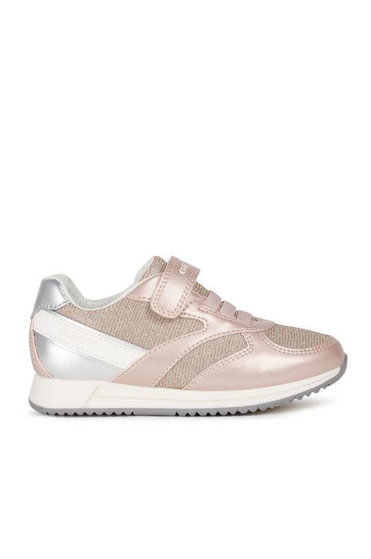starorůžová Geox - Dětské boty Dívčí