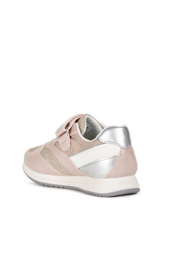starorůžová Geox - Dětské boty