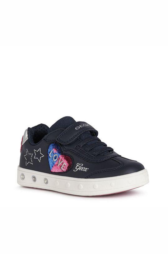 Geox - Pantofi copii  Gamba: Material sintetic Talpa: Material sintetic Introduceti: Piele naturala