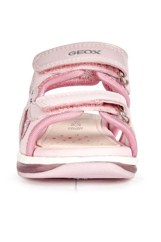 pastelově růžová Geox - Dětské sandály