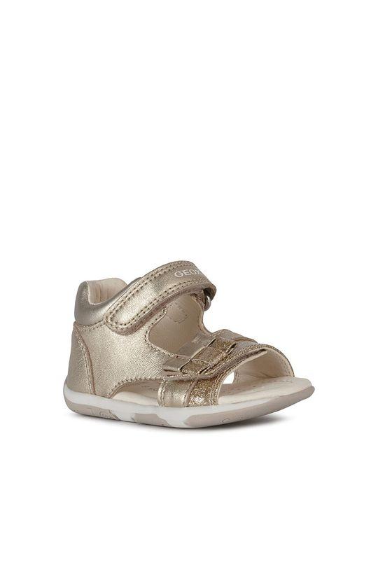 Geox - Sandały dziecięce złoty