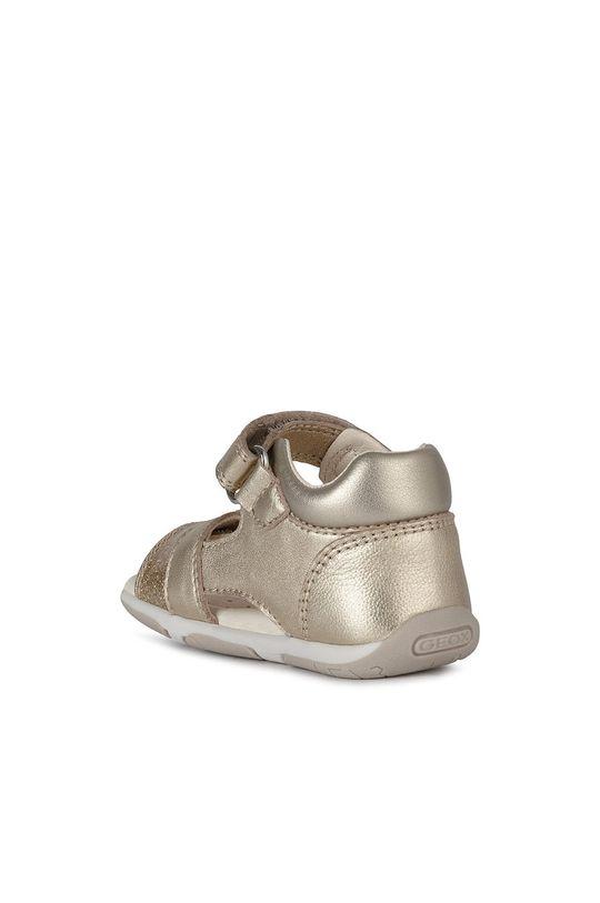 złoty Geox - Sandały dziecięce