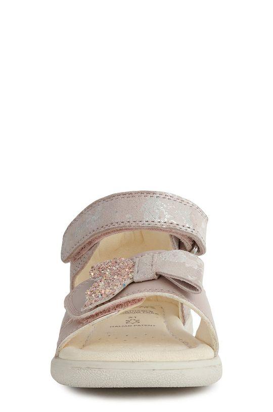 Geox - Dětské sandály  Svršek: Přírodní kůže, Semišová kůže Podrážka: Umělá hmota Vložka: Přírodní kůže