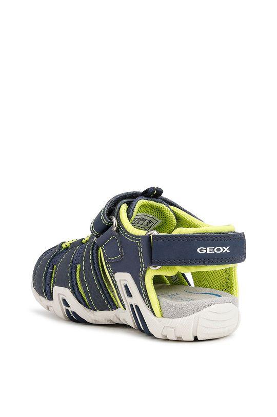Geox - Sandały dziecięce Cholewka: Materiał syntetyczny, Podeszwa: Materiał syntetyczny, Wkładka: Skóra naturalna