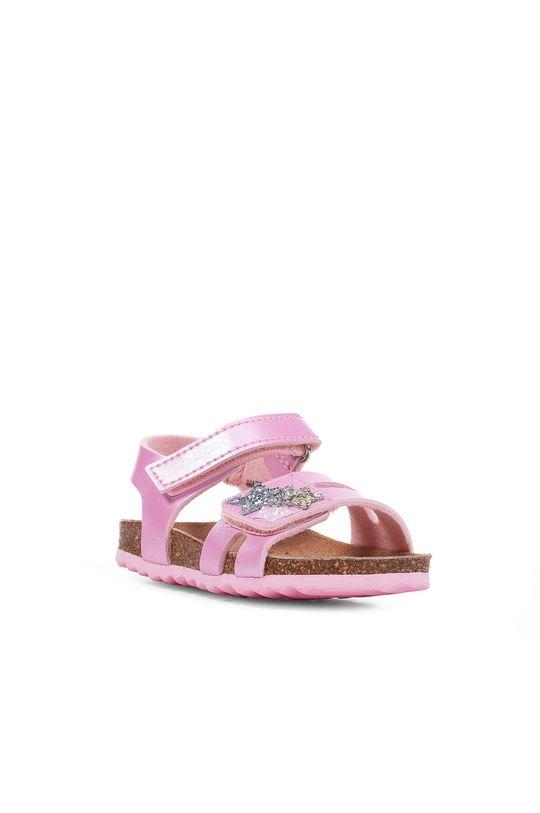 Geox - Dětské sandály růžová
