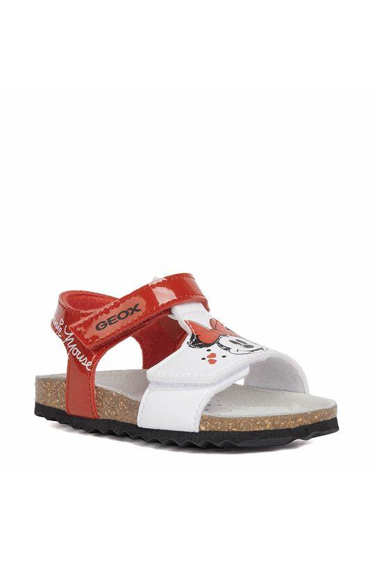 Geox - Sandały dziecięce czerwony