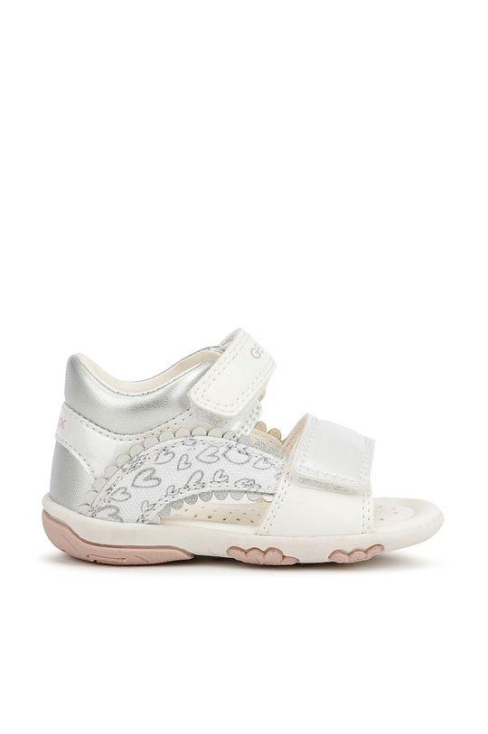 bílá Geox - Dětské sandály Dívčí