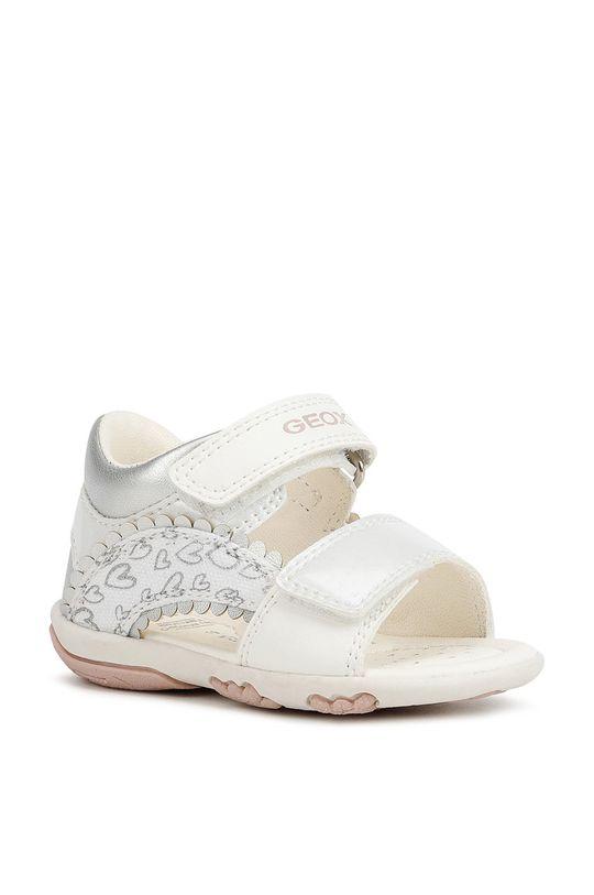 Geox - Dětské sandály bílá