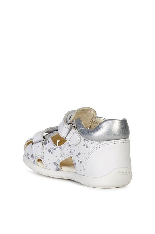 biały Geox - Sandały dziecięce