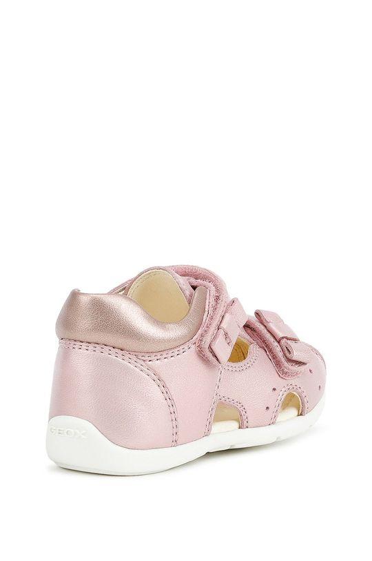 pastelowy różowy Geox - Sandały dziecięce
