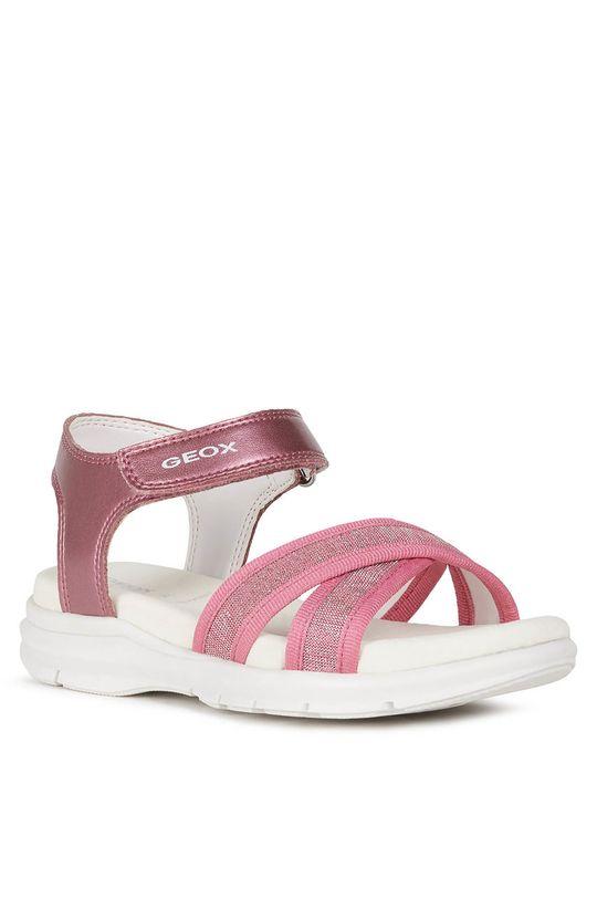 Geox - Dětské sandály fuchsiová